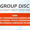 FOCUS GROUP DISCUSSION – PROGRAM HIBER DIKTI 2016-STIE PENA