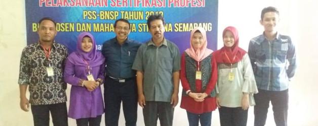 MAHASISWA STIE PENA MENGIKUTI UJIAN SERTIFIKASI PROFESI BNSP