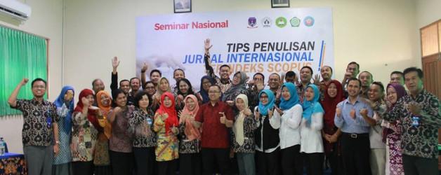 SEMINAR NASIONAL : TIPS PENULISAN JURNAL INTERNASIONAL TERINDEKS SCOPUS