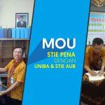 Kerjasama STIE Pelita Nusantara  dengan UNIBA dan STIE AUB Surakarta