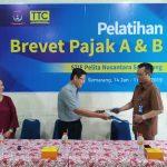 PELATIHAN & SERTIFIKASI PAJAK  BREVET A & B  2019 MAHASISWA STIE PELITA NUSANTARA