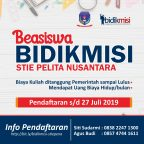 Beasiswa Bidikmidi 2019